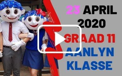 DONDERDAG 23 APRIL 2020 – GRAAD 11