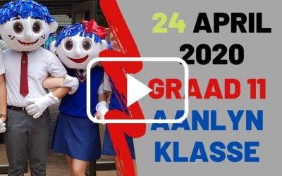 VRYDAG 24 APRIL 2020 – GRAAD 11