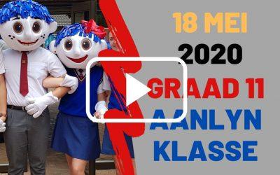 MAANDAG 18 MEI 2020 – GRAAD 11