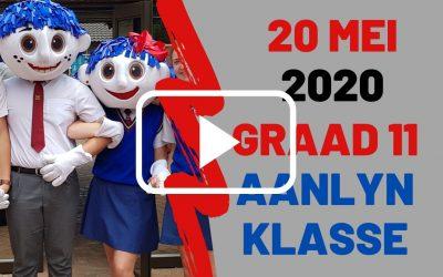 WOENSDAG 20 MEI 2020 – GRAAD 11