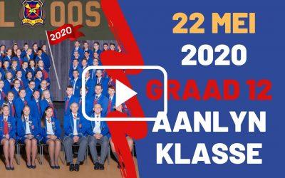 VRYDAG 22 MEI 2020 – GRAAD 12