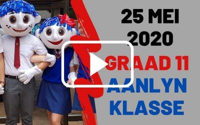 MAANDAG 25 MEI 2020 – GRAAD 11