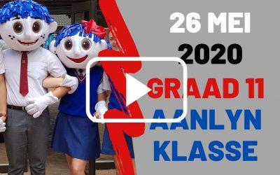 DINSDAG 26 MEI 2020 – GRAAD 11
