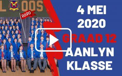 MAANDAG 4 MEI 2020 – GRAAD 12