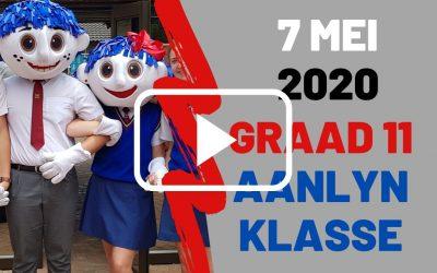DONDSERDAG 7 MEI 2020 – GRAAD 11