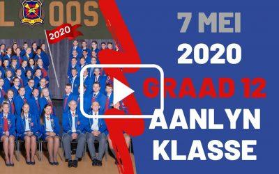 DONDERDAG 7 MEI 2020 – GRAAD 12