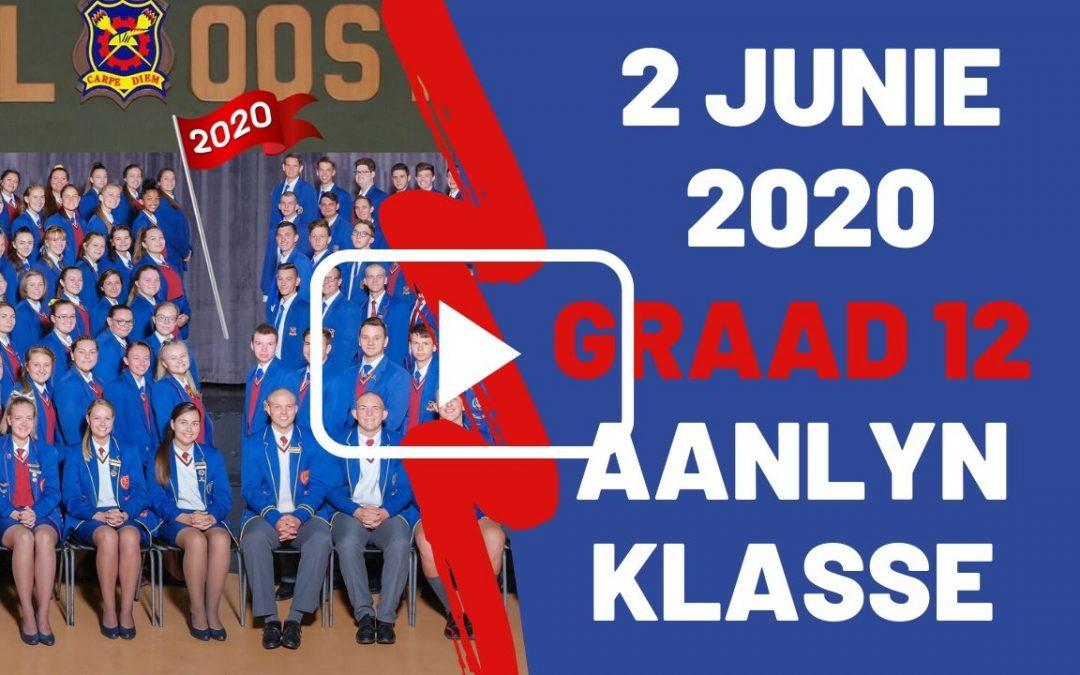 DINSDAG 02 JUNIE 2020 – GRAAD 12