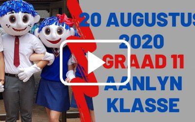DONDERDAG 20 AUGUSTUS 2020 – GRAAD 11